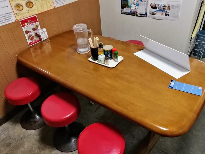 05テーブル席