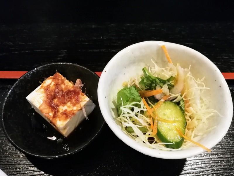 14サラダと豆腐