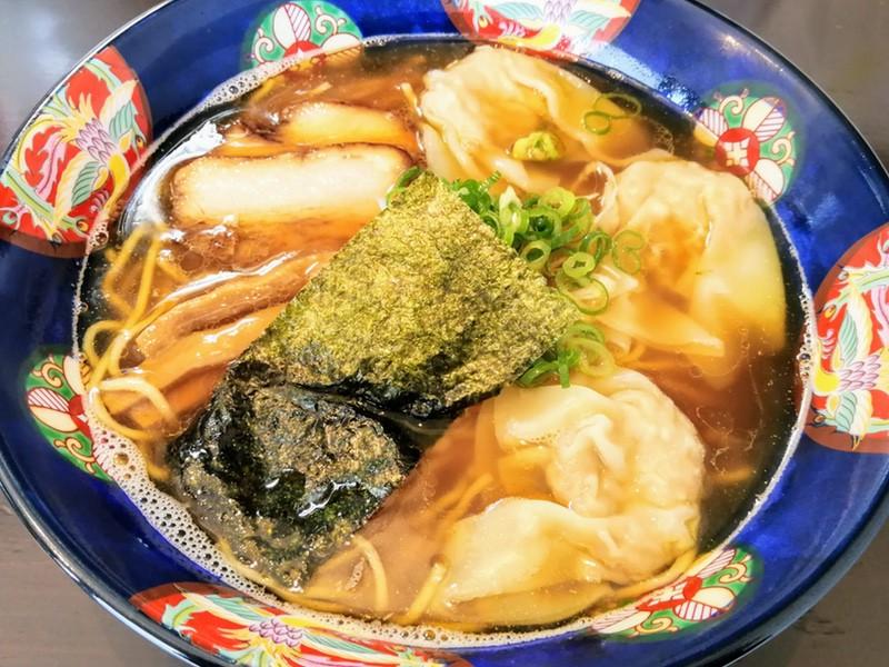 07肉ワンタン麺